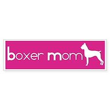 Boxer Mom Bumper Bumper Sticker