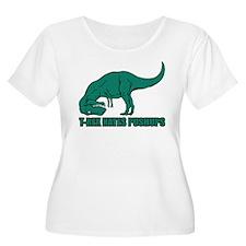 Hilarious T-rex Plus Size T-Shirt