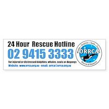 ORRCA Bumper Car Sticker