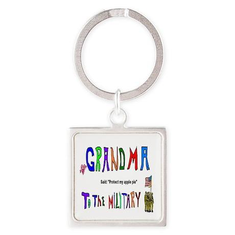 Military Grandma Keychains