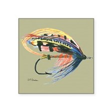 Fishing Lure Art Sticker
