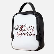 Mrs. Channing Tatum Neoprene Lunch Bag