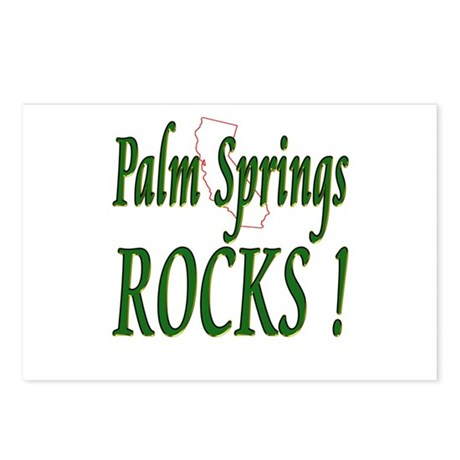 Palm Springs Rocks ! Postcards (Package of 8)