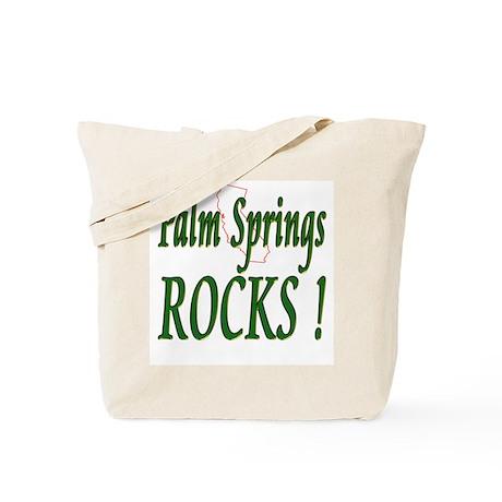 Palm Springs Rocks ! Tote Bag