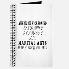 American Kickboxing Martial Arts Designs Journal