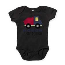 Rough and Tough (4) Dump Truck Baby Bodysuit