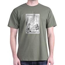 Coconuts Comics T-Shirt - Da Pinchy Code