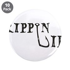 """Rippin Lips Logo 3.5"""" Button (10 pack)"""