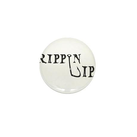 Rippin Lips Logo Mini Button (10 pack)