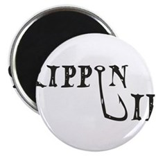 """Rippin Lips Logo 2.25"""" Magnet (100 pack)"""