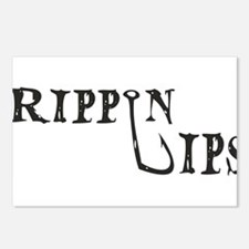 Rippin Lips Logo Postcards (Package of 8)