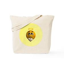 Angelic Emoticon Tote Bag