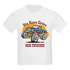 Monster Truck 4th Birthday T-Shirt