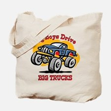 Monster Truck 5th Birthday Tote Bag