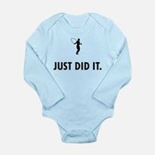 Rope Jumping Long Sleeve Infant Bodysuit