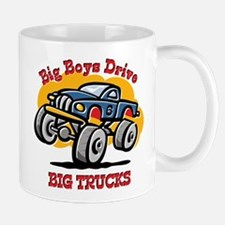 Monster Truck 6th Birthday Mug