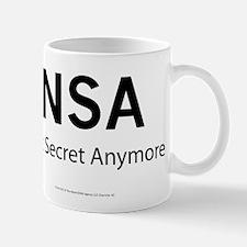 NSA Not Secret Anymore Mug