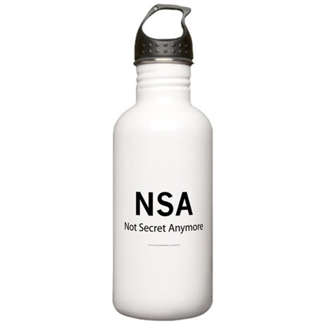 NSA Not Secret Anymore Stainless Water Bottle 1.0L