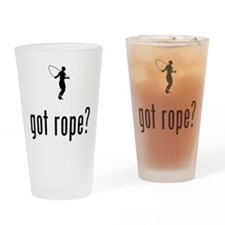 Rope Jumping Drinking Glass