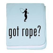 Rope Jumping baby blanket