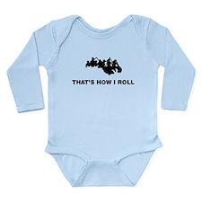 Rafting Long Sleeve Infant Bodysuit