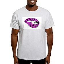 Love Bites Back - Purple T-Shirt