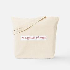 Symbol of Hope Tote Bag