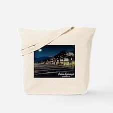 Night Scene, Palm Springs, California Tote Bag