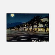 Night Scene, Palm Springs, California Rectangle Ma