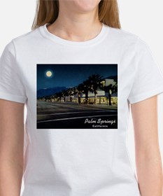 Night Scene, Palm Springs, California T-Shirt