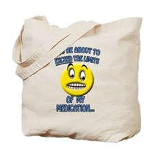 Medication Light Tote Bag