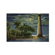 Cape Florida Light House, Miami Vintage Rectangle
