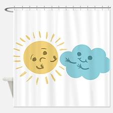 Cloud Hug Shower Curtain
