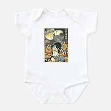Ukiyo-e Kabuki Infant Bodysuit