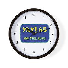Yay! 65 Wall Clock