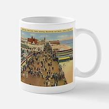 Boardwalk, Asbury Park, New Jersey Vintage Mug