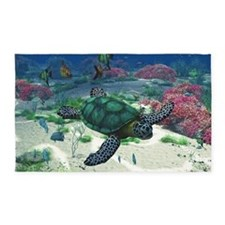 Sea Turtle 3'x5' Area Rug