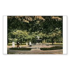 East Side Park, Paterson, New Jersey Vintage Stick