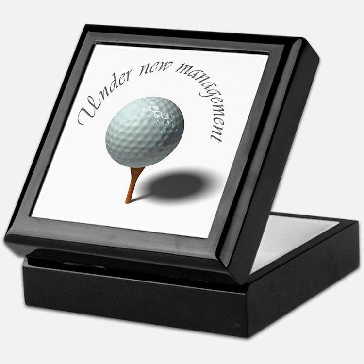 Retirement - Under New Management – Golfer Keepsak