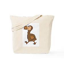 Funny Dodo Bird Cartoon Tote Bag