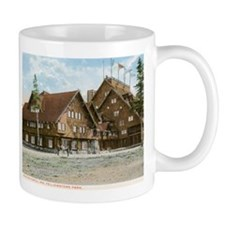 Old Faithful Inn, Yellowstone Park, Vintage Mug
