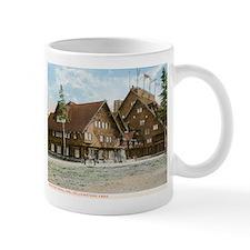 Old Faithful Inn, Yellowstone Park, Vintage Mug