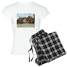 Old Faithful Inn, Yellowstone Park, Vintage Pajama