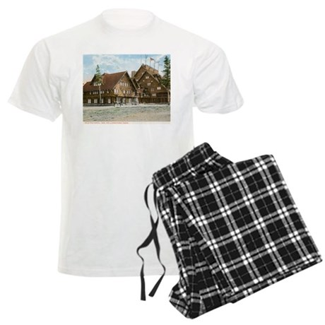 Old Faithful Inn, Yellowstone Park, Vintage Pajama