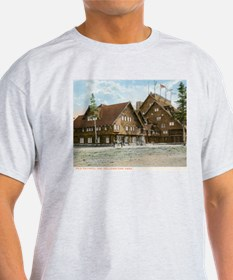 Old Faithful Inn, Yellowstone Park, Vintage T-Shir