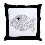 emma walters memories.fish. Throw Pillow