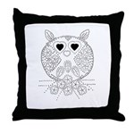 emma walters memories.owl. Throw Pillow
