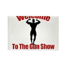 Gun Show Rectangle Magnet