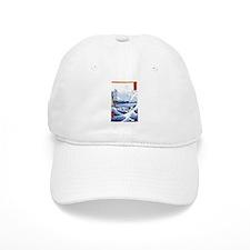 Ukiyo-e Mount Fuji Baseball Cap