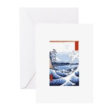 Ukiyo-e Mount Fuji Greeting Cards (Pk of 10)